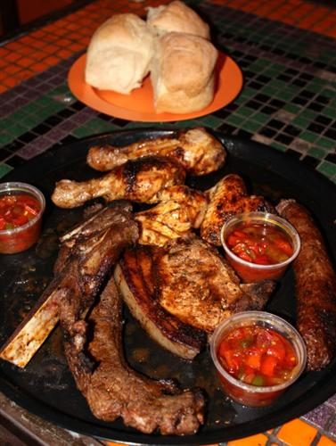 It's like a south african barbecue.. This venue is 10mins from my home - get's so packed, cheap alcohol, cheap food, and guaranteed good times!!