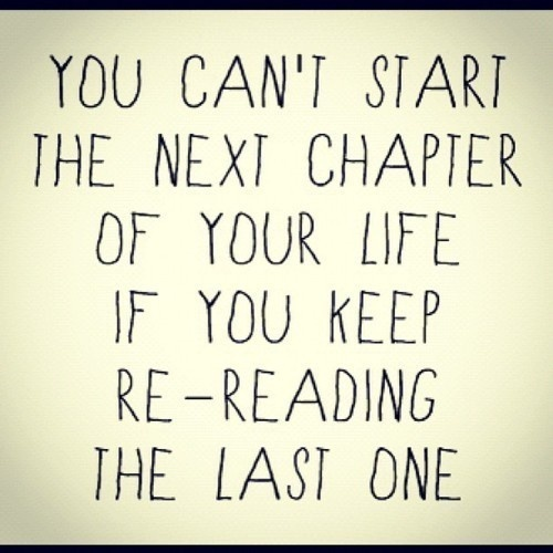 Time for the next chapter.. Time for a new lead..